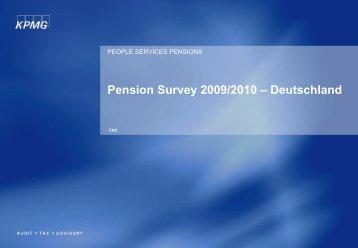 Pension Survey - DIA