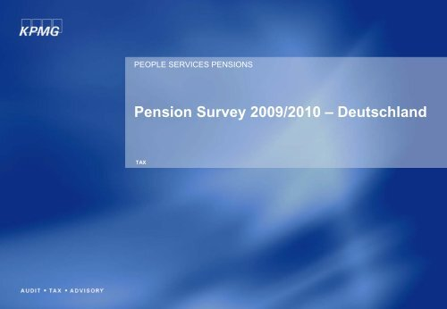 Pension Survey - DIA