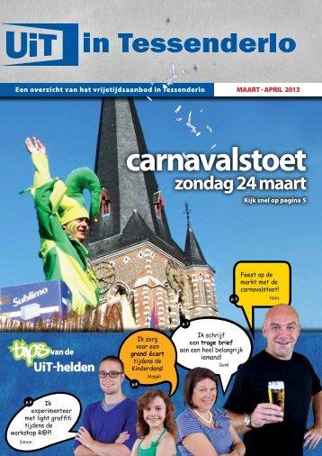 UiTmagazine maart-april 2013 - Gemeente Tessenderlo