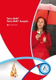Tetra Brik® Tetra Brik® Aseptic - Tetra Pak