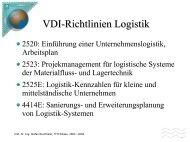 Logistik Telematik I Vorlesung 3