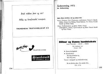 Årsberetning 1972
