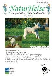 NaturHelse nr. 2/2007 - Landsorganisationen Natursundhedsrådet
