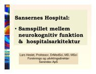 (Microsoft PowerPoint - Sansernes hospital \305rhus 110610)