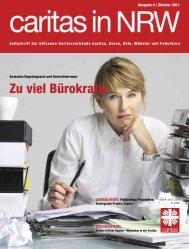 Zu viel Bürokratie - Caritas NRW