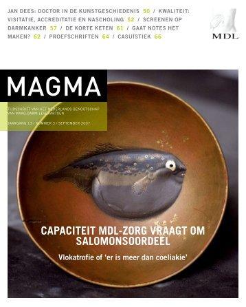 Magma - Genootschap van Maag-Darm-Leverartsen