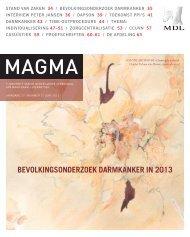 bevolkingsonderzoek darmkanker in 2013 - Genootschap van Maag ...