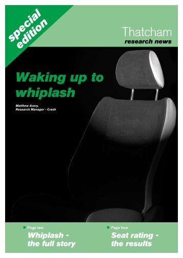 Waking up to whiplash - AA