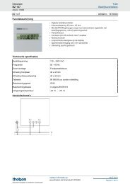 Infosheet - BZ 147 - Theben