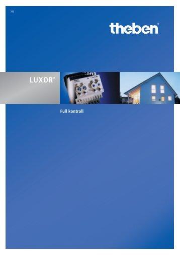 LUXOR® 400 start modul - Theben