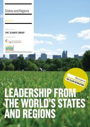 States and Regions - The Climate Group