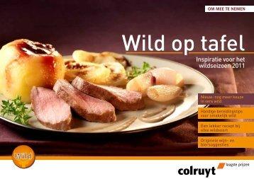 Inspiratie voor het wildseizoen 2011 - Colruyt