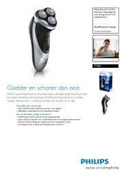PT860/16 Philips Elektrisch scheerapparaat voor droog scheren met ...