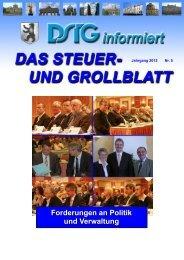Forderungen an Politik und Verwaltung - Dstg-Berlin