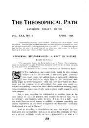 vol. xxx, no. 4 april 1926 universal brotherhood - a fact in nature