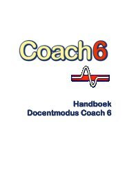 Handboek Docentmodus Coach 6 - CMA