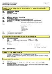 VEILIGHEIDSINFORMATIEBLAD Phenobarbital ... - Thermo Scientific