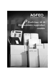 Agfeo AS40 - Phone Master