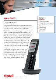 Polycom-Kirk-Tiptel 5020 - Phone Master