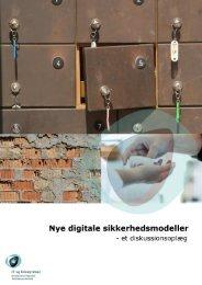 Nye digitale sikkerhedsmodeller