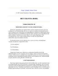 HET URANTIA BOEK - VERHANDELING 28