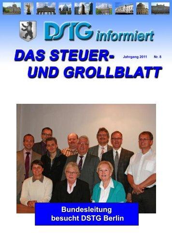 Bundesleitung besucht DSTG Berlin