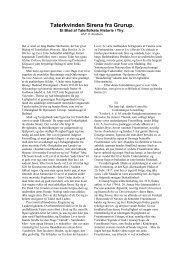 Taterkvinden Sirena fra Grup. Et blad af ... - Thisted Museum