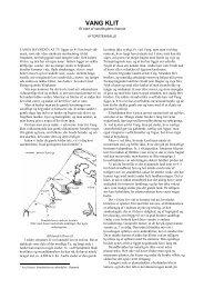 Vang Klit - Et blad af sandflugtens historie - Thisted Museum