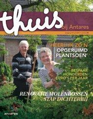 Thuis bij Anrtares 43, juli 2013 (pdf 3,65 MB) - Antares