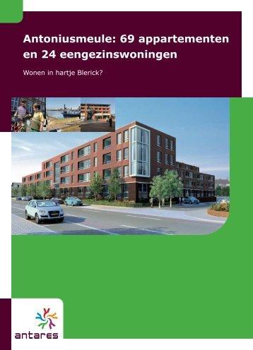 brochure van Antoniusmeule - Antares