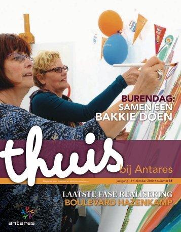 Thuis bij Antares 35; november 2010 (pdf 3,16 MB)