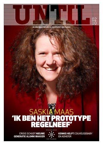 'ik ben het prototype regelneef' saskia maas - Tilburg University