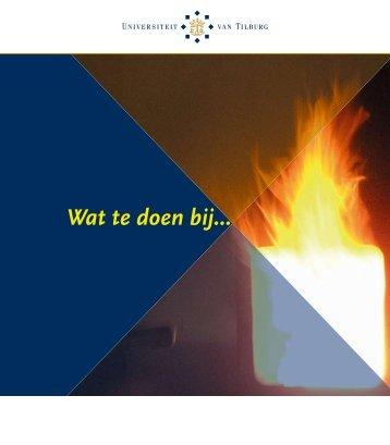 Wat te doen bij... - Tilburg University
