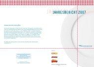 JAHRESBERICHT 2007 - Tischlein deck dich