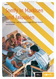 SOMFY Markisen & Jalousien