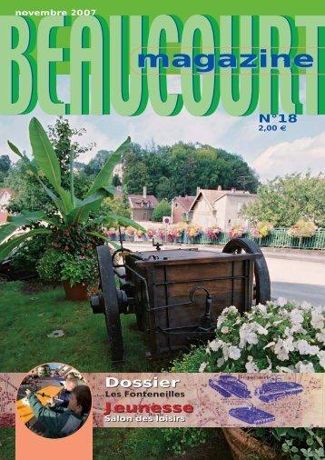 Novembre 2007 - Ville de Beaucourt