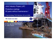 (JIP) Protective coatings 20 years without maintenance - TNO