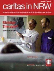 Richtige therapie? - Caritas NRW