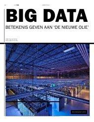 Big Data betekenis geven aan 'De Nieuwe Olie' - Zomer 2013 ... - TNO