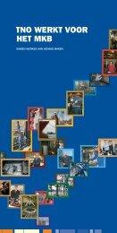 TNO werkt voor het MKB: Samen werken aan kennis maken