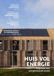 Huis vol Energie - inspiratie voor energieneutraal wonen - TNO