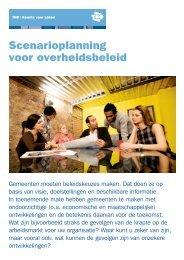 Scenarioplanning voor overheidsbeleid - TNO