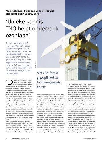 Unieke kennis TNO helpt onderzoek ozonlaag