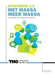 Een whitepaper over crowdsourcing in opsporing - TNO