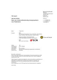 Naar een toekomstbestendig energiesysteem voor Nederland (TNO ...