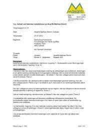 Asbest ved tekniske installationer på Atuarfik Mathias ... - TNT Nuuk