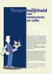 Wenkenblad voor Restaurants en cafés - Toerisme Vlaanderen