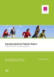 Impulsprogramma Vlaamse Regio's - Toerisme Vlaanderen