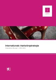 de Internationale Marketingstrategie (pdf) - Toerisme Vlaanderen