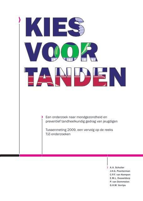 Rapport Kies voor Tanden - TNO